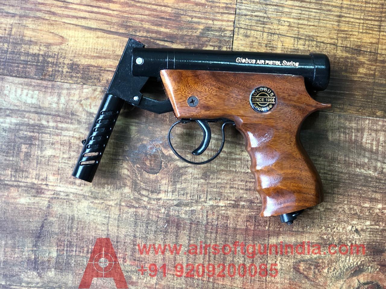 Globus Swing Wooden Sports Air Gun By Airsoft Gun India