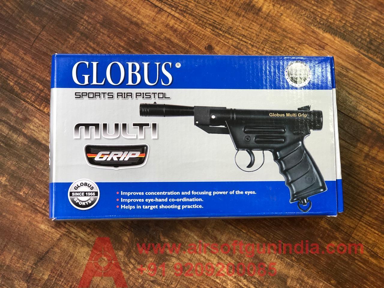 Globus Multi Grip Sports Cheap Air Pistol By Airsoft Gun India