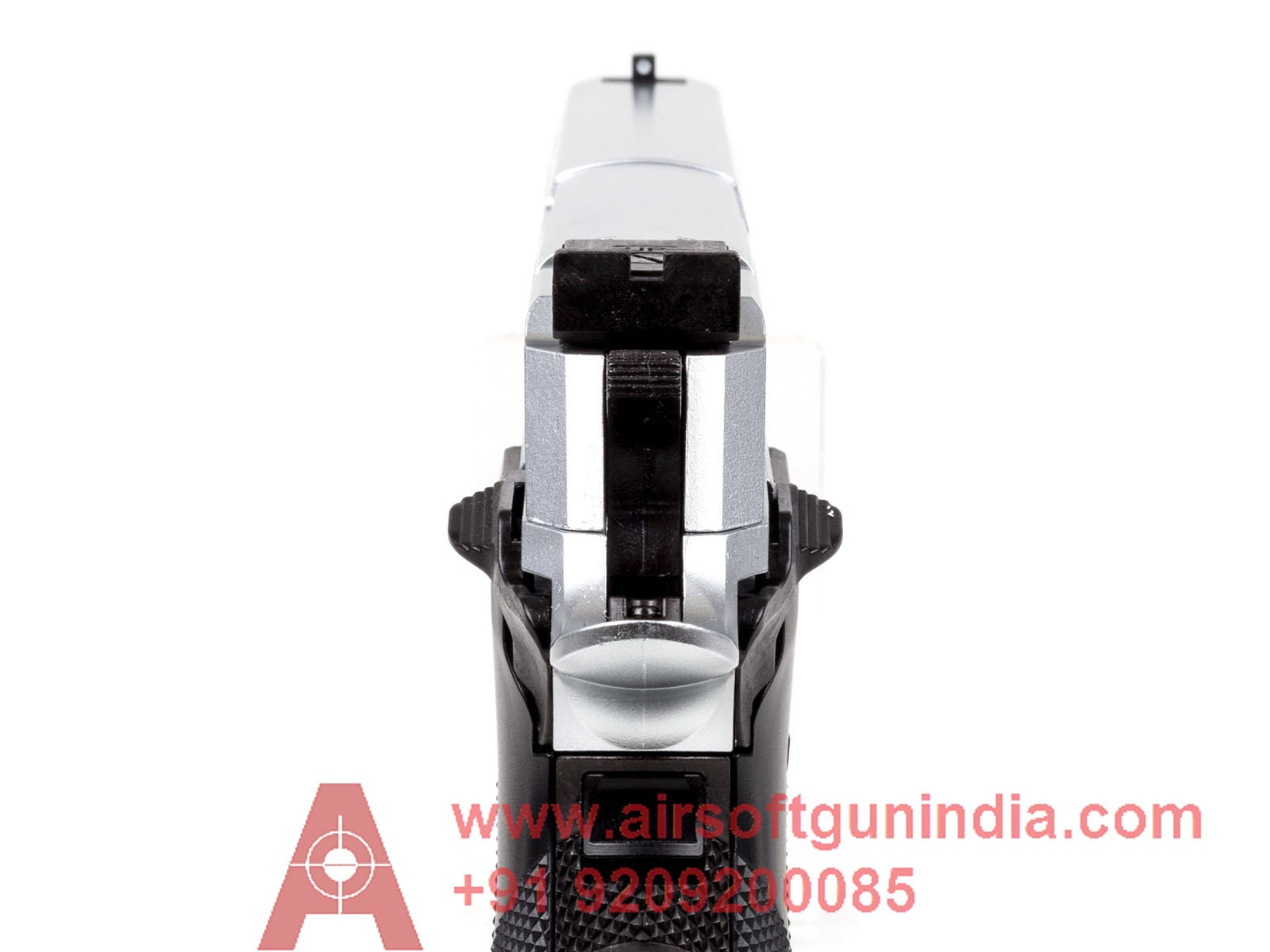 Sig Sauer X-Five ASP CO2 Pellet Pistol, Silver By Airsoft Gun India