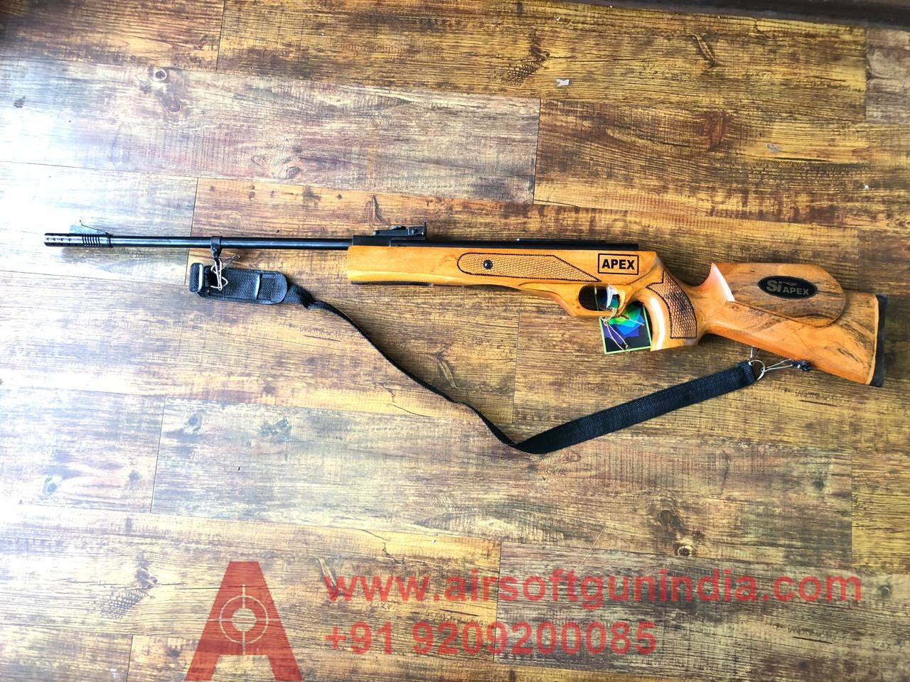 Apex Air Rifle With Safety Lock By Airsoft Gun India