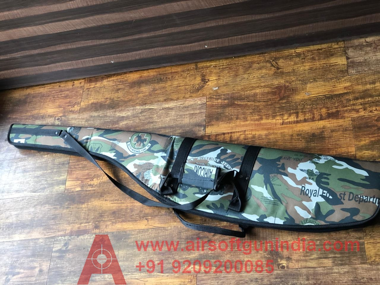 Airsoft Gun India High Quality Air Rifle Cover ( Camo Colour )