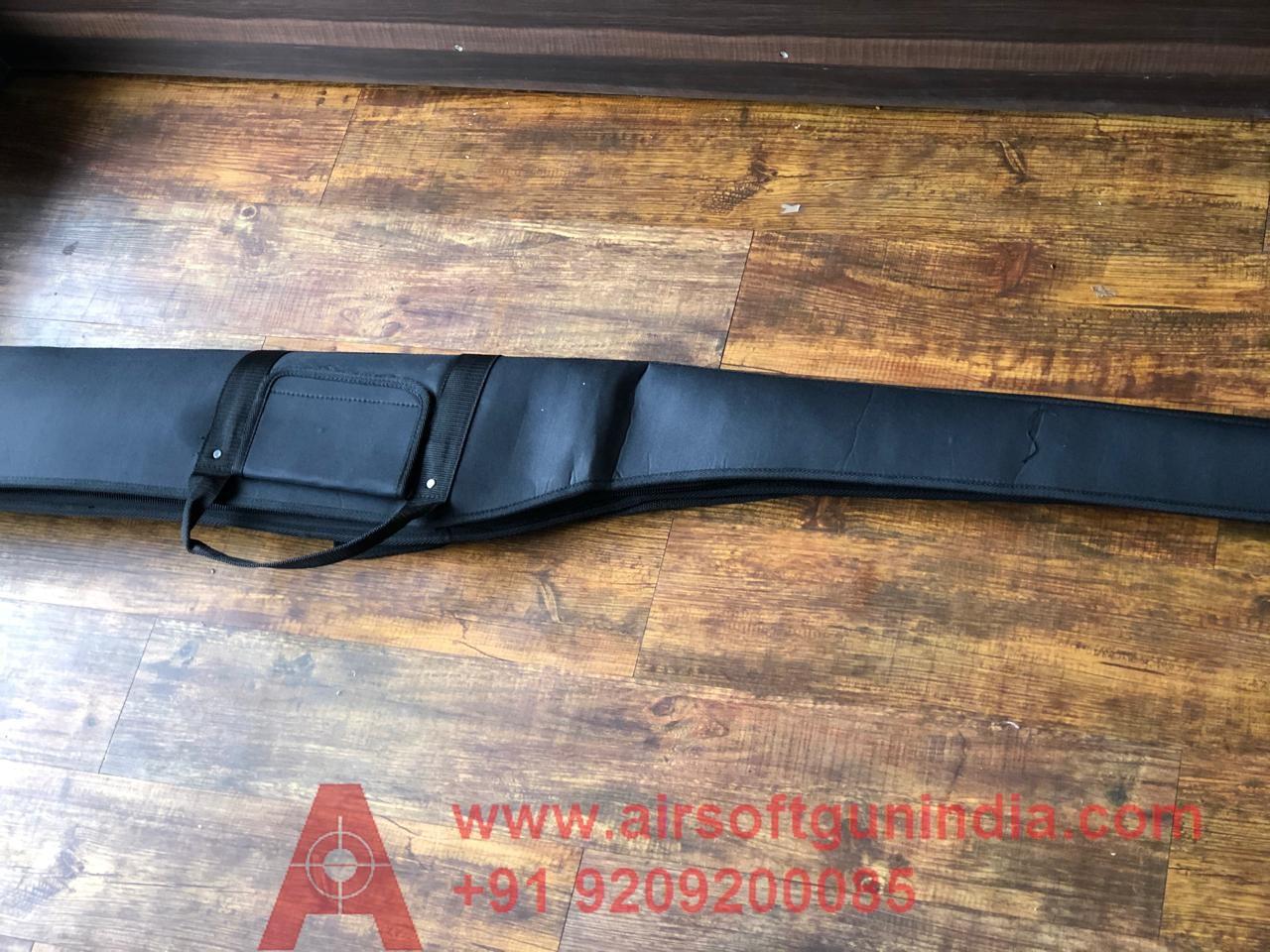 Airsoft Gun India High Quality Air Rifle Cover ( Black  Colour )