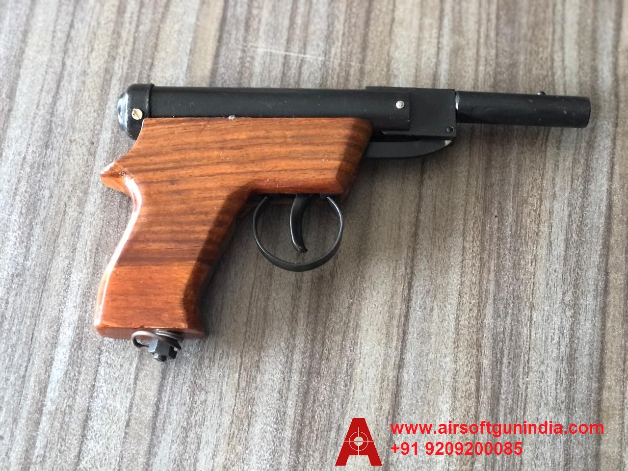 Baby Air Pistol Brown Butt By Airsoft Gun India