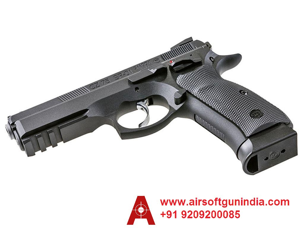 ASG CZ 75 SP-01 SHADOW CO2 BLOWBACK STEEL BB PISTOL By Airsoft Gun India