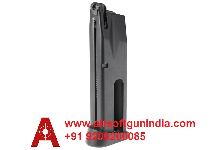 Swiss Arms P92 CO2 BB Pistol Magazine, 20rds By Airsoft Gun India