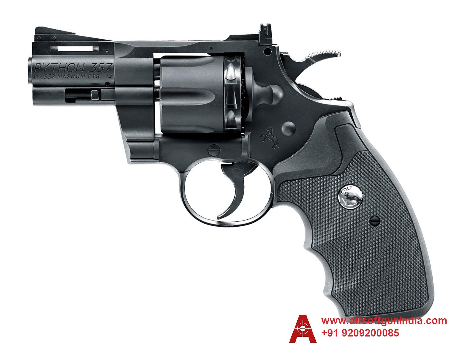 UMAREX Colt Python 357 Pellet And Bb Revolver By Airsoft Gun India