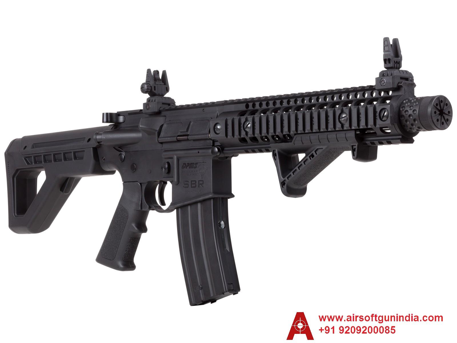 Crosman DPMS M4 SBR Semi-Auto CO2 Air Rifle  By Airsoft Gun India