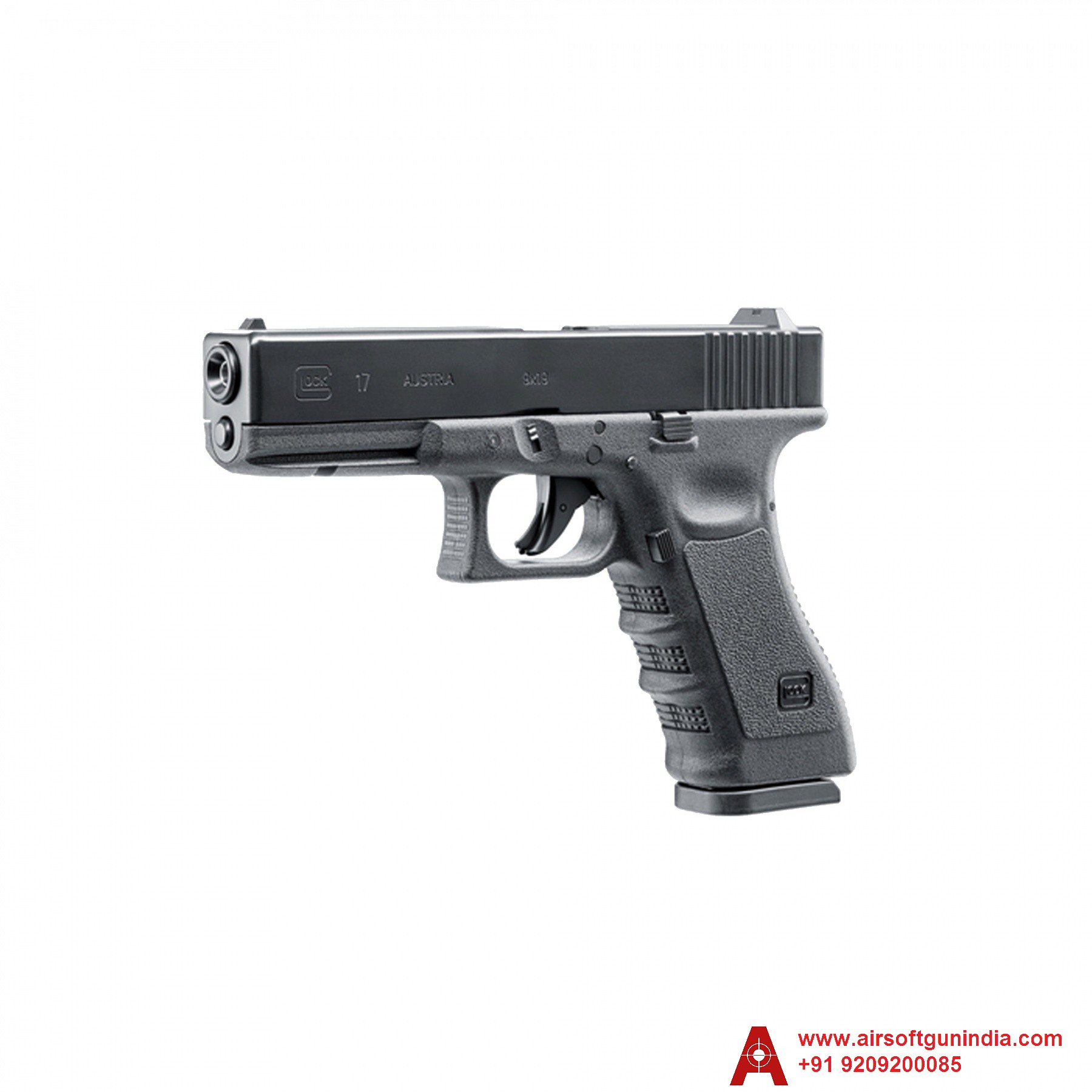 Glock 17 Gen3 Cal .177 CO2 Bb And Pellet Pistol By Airsoft Gun India