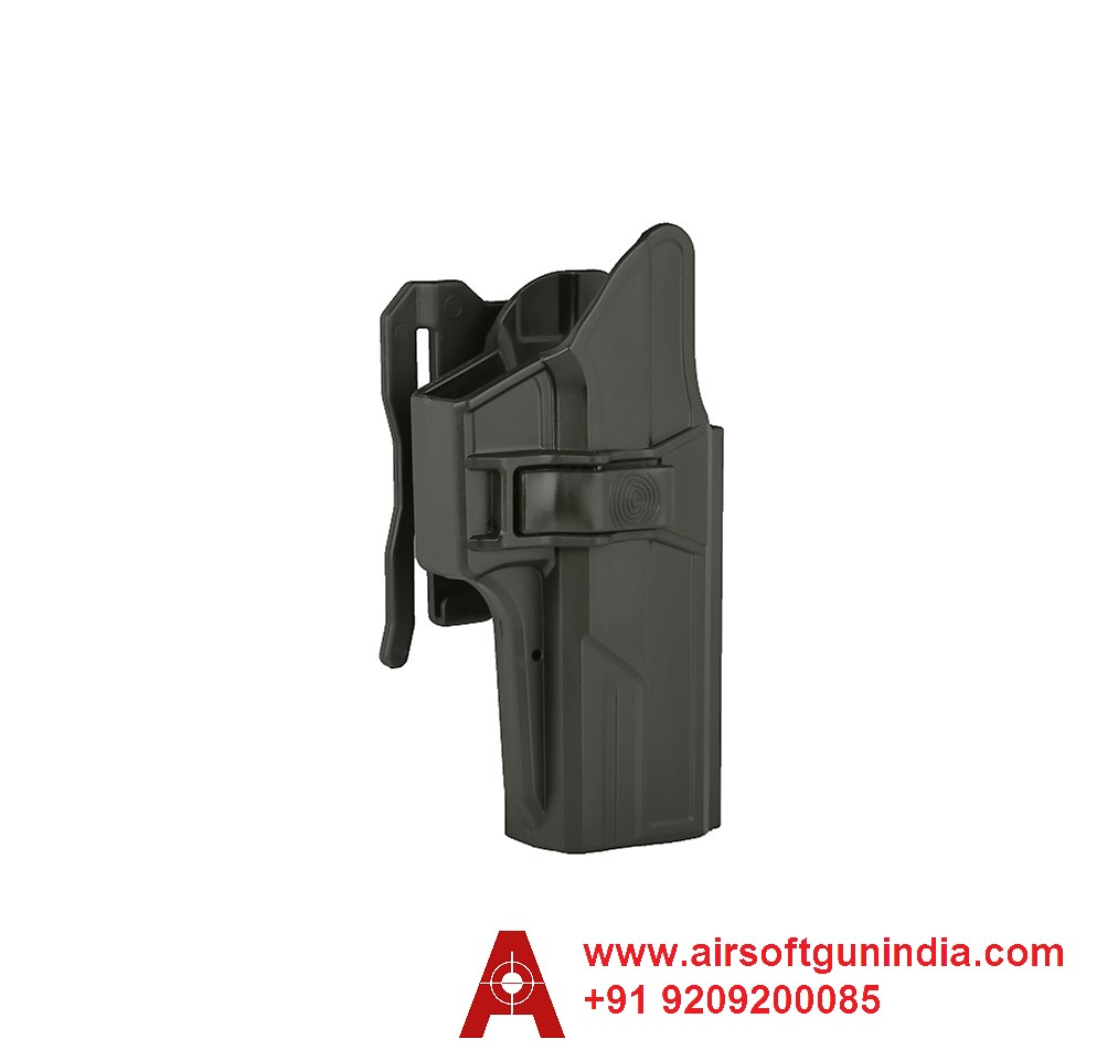 Glock 17/22/31 OWB Holster Index-finger Release 360° Adjustable By Airsoft Gun India