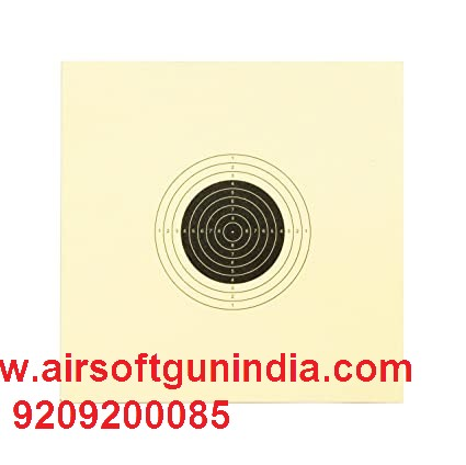 Air Rifle Target Paper (Set Of 100)