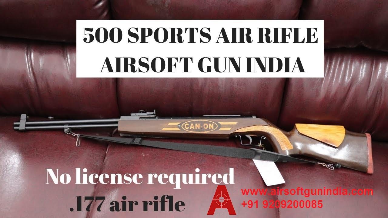 500 SPORTS AIR RIFLE BY AIRSOFT GUN INDIA