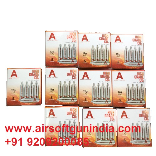 12 G Co2 Cartridges Pack Of 50 For Co2 Guns