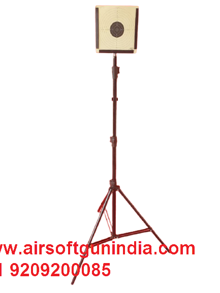 Tripod Target Stand Foldablefor Air Rifle And Air Pistol Shooting For Indoor And Outdoor Shoot By Airsoft Gun India