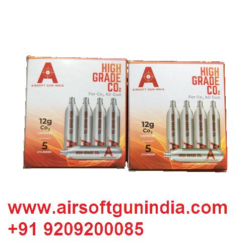 12 G Co2 Cartridges Pack Of 10 For Co2 Guns