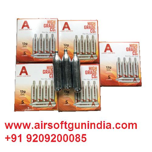 12 G Co2 Cartridges Pack Of 25 For Co2 Guns