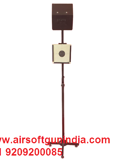 Target Stand Single Pipefor Air Rifle And Air Pistol Shooting For Indoor And Outdoor Shoot By Airsoft Gun India