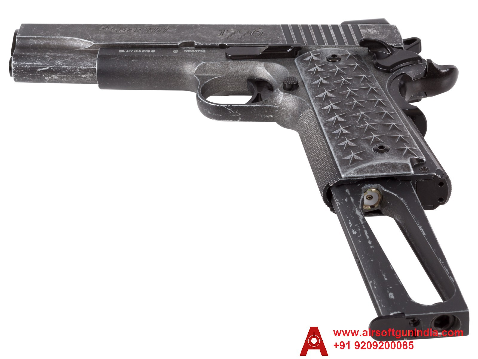 SIG Sauer 1911 We The People CO2 BB Pistol BY Airsoft Gun India