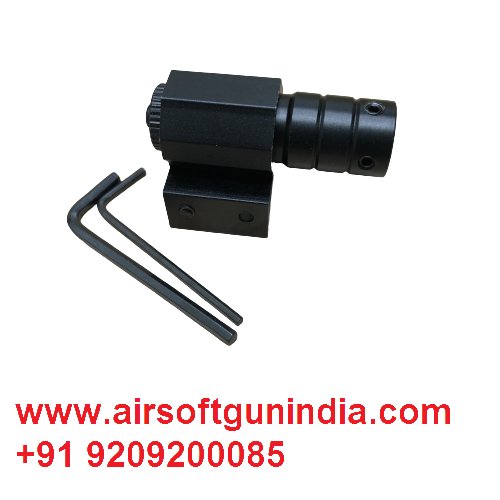 Laser Light For Air Pistol And Air Rifle With11/ 20mm Picatinny Mount By Airsoft Gun India