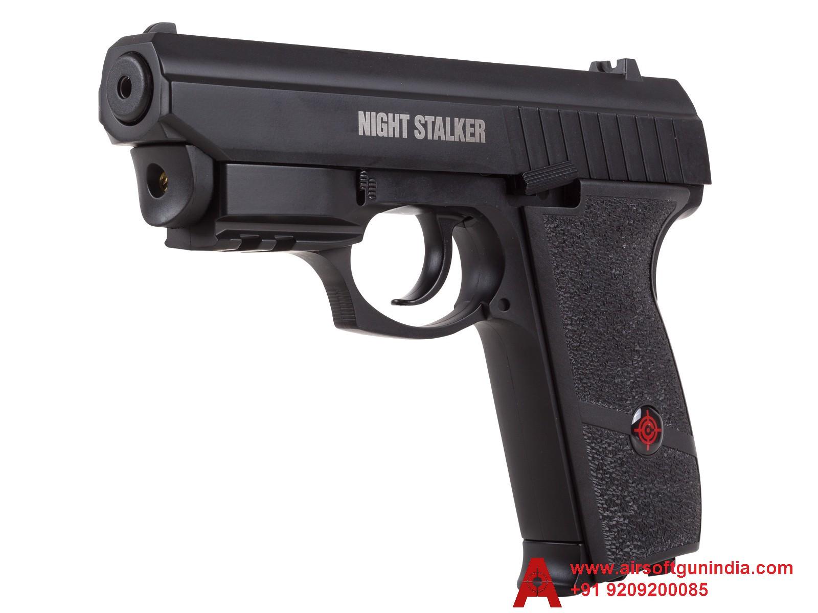 Crosman PFM520 Night Stalker CO2 Blowback Air Pistol By Airsoft Gun India