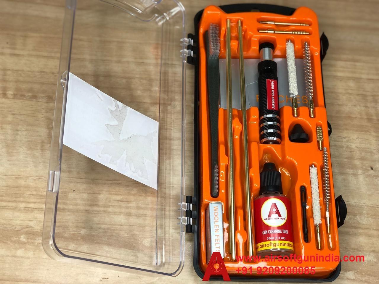 Premium Gun Cleaning Kit For .177 Co2 Pistol / Revolver / Rifle By Airsoft Gun India