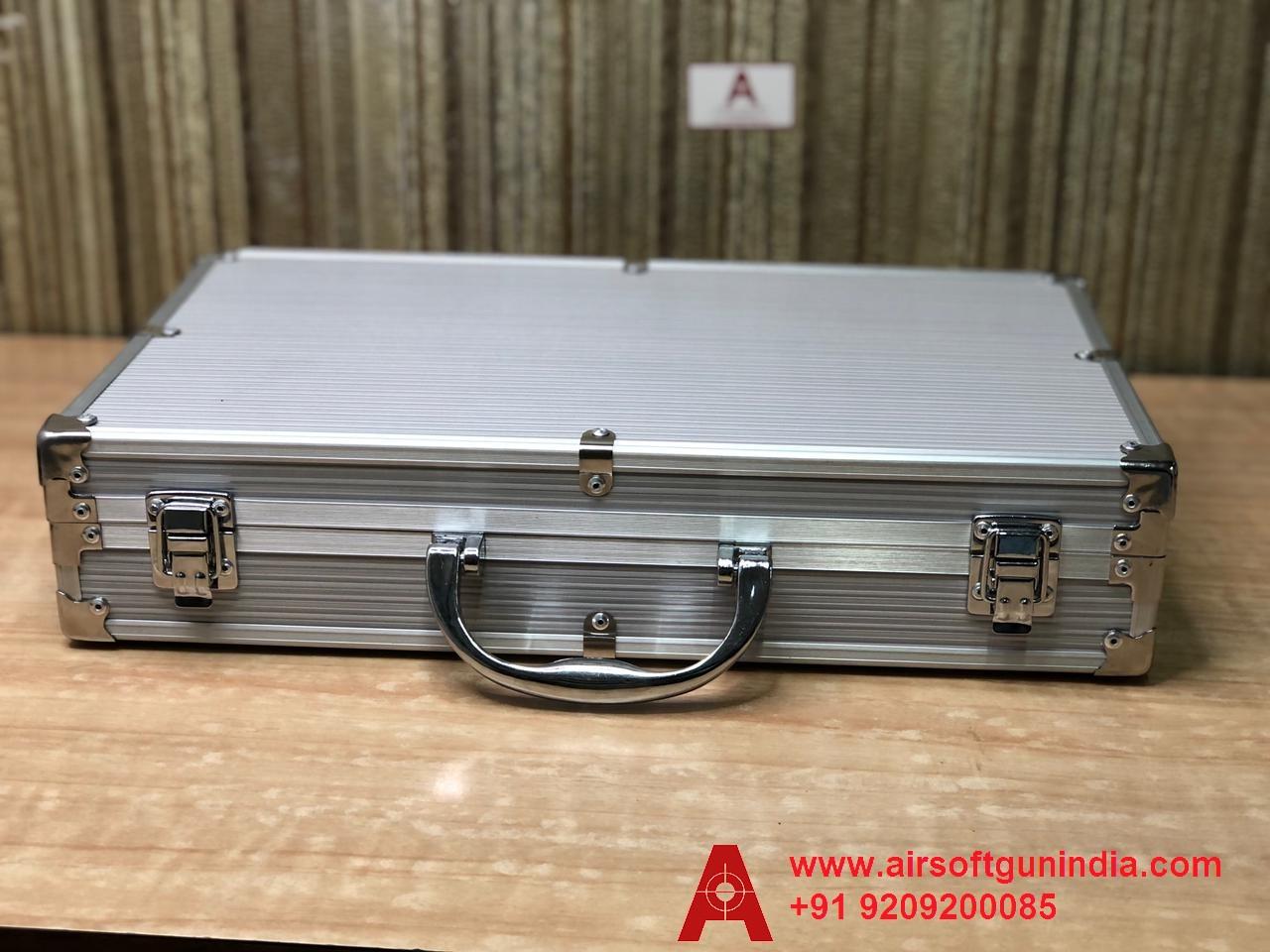 Customized Storage Metal Gun Box/ Gun Case For GAMO PR 725 Co2 Pellet Revolver By Airsoft Gun India