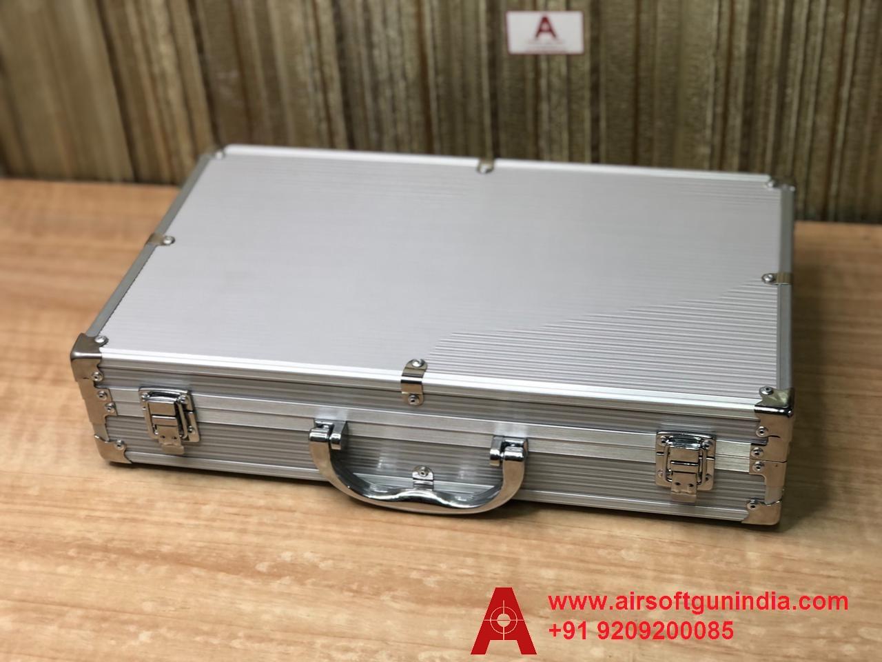 Customized Storage Metal Gun Box/ Gun Case For BLACK OPS CO2 BB 2.5 AIR REVOLVER INCH By Airsoft Gun India