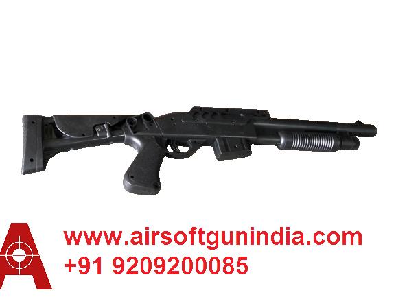 Pump Action Airsoft Shot Gun By Airsoft Gun India With Box Packing