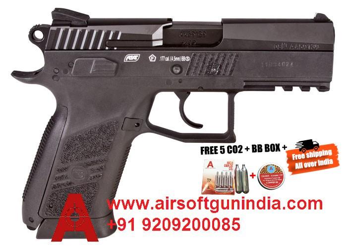 CZ 75 P-07 Duty CO2 BB Blowback Pistol By Airsoft Gun India