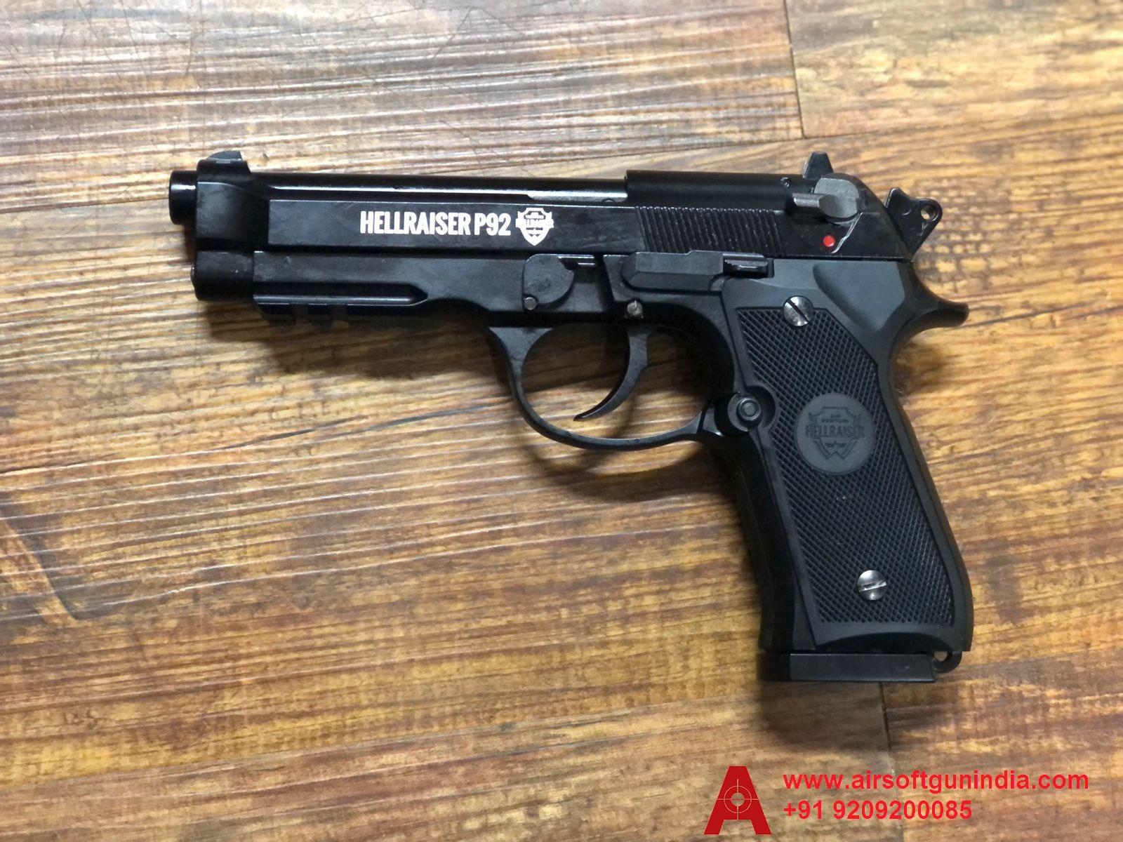 Hellraiser P92 M92A1 .177 Co2 Blowback  Bb Air Pistol By Airsoft Gun India