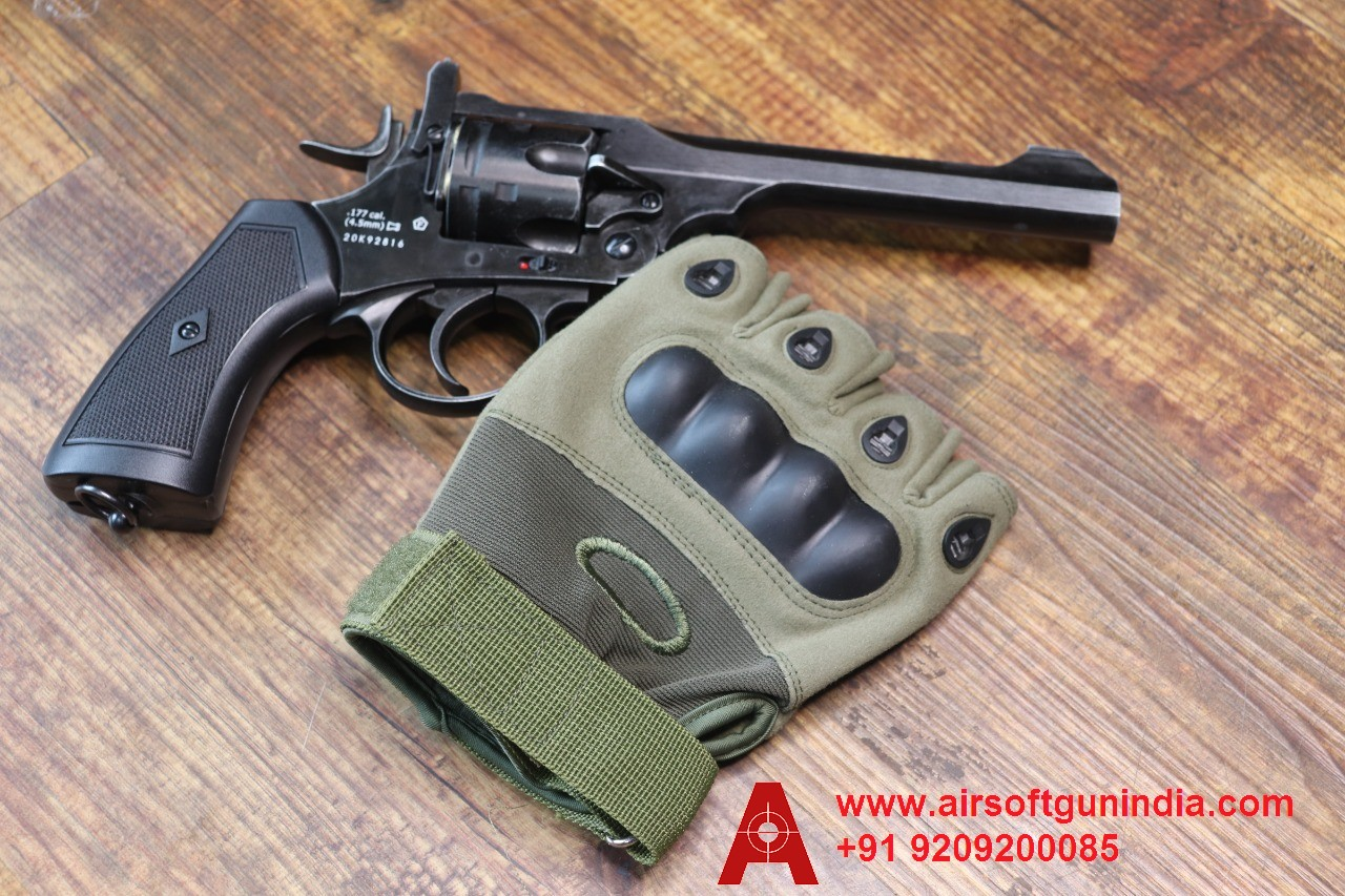 PVC Coated Cotton Gloves From Airsoft Gun India For Sports