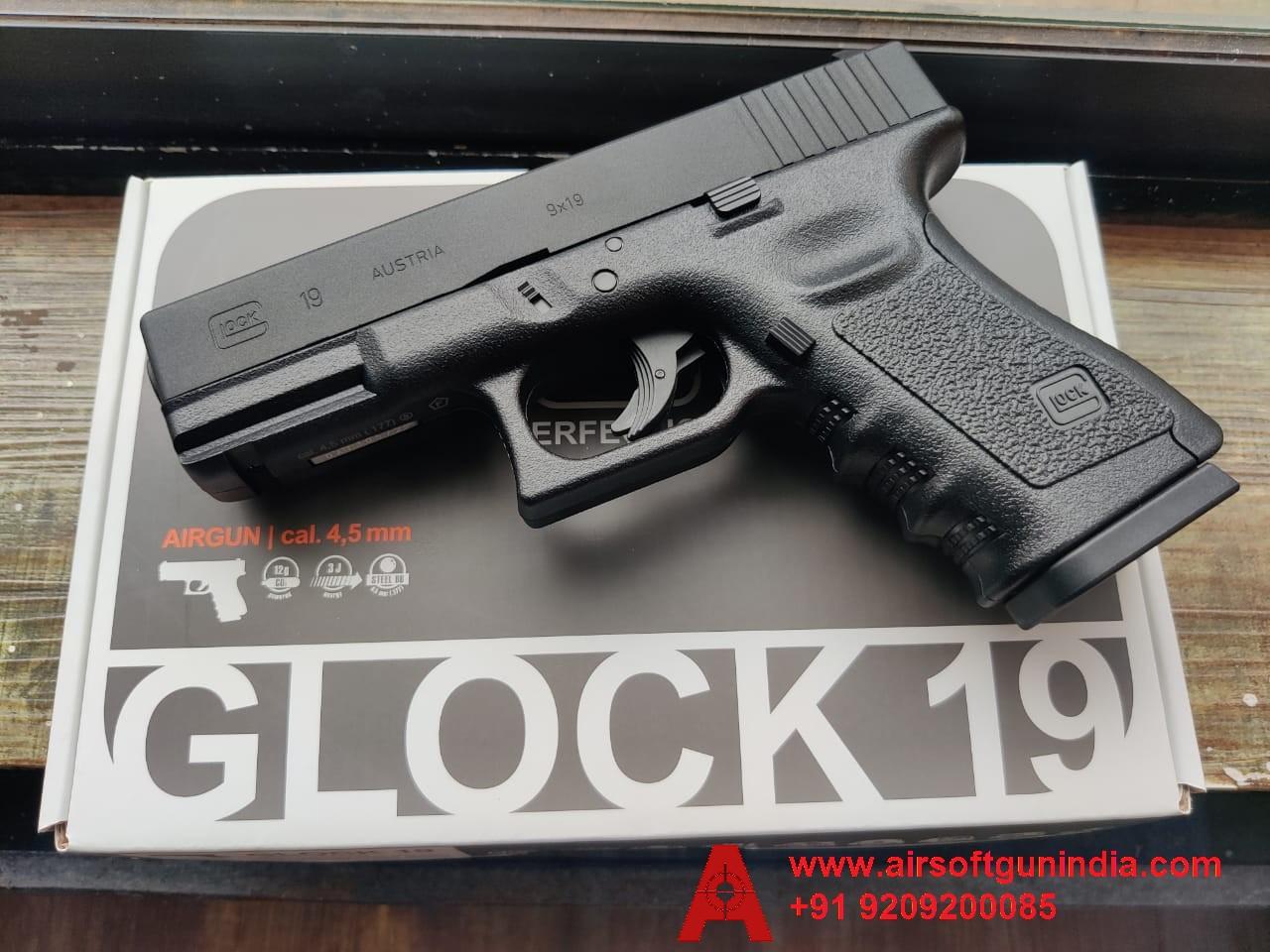 GLOCK 19 .177 CO2 BB NON BLOWBACK AIR PISTOL BY AIRSOFT GUN INDIA